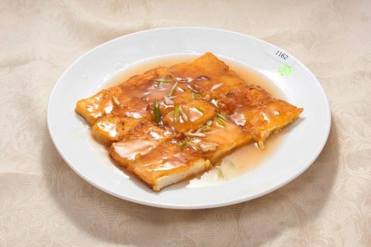 Wok marinated tofu