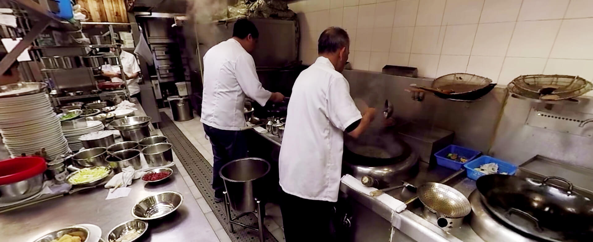 Inside a Chinese Kitchen